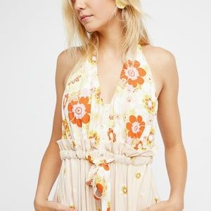 Free people daisy and daydreams jumpsuit